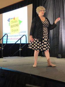 Jamie Collins - mentor Patti