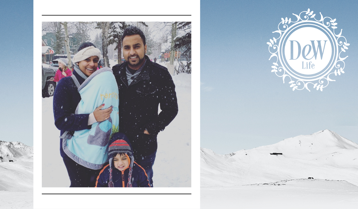 """Featured image for """"Footsteps in the Snow, Amisha Singh DDS"""""""